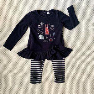 "Petit Lem ""Winter Things"" Outfit | 24m"